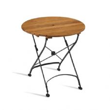 Vanna Arch Round Folding Table